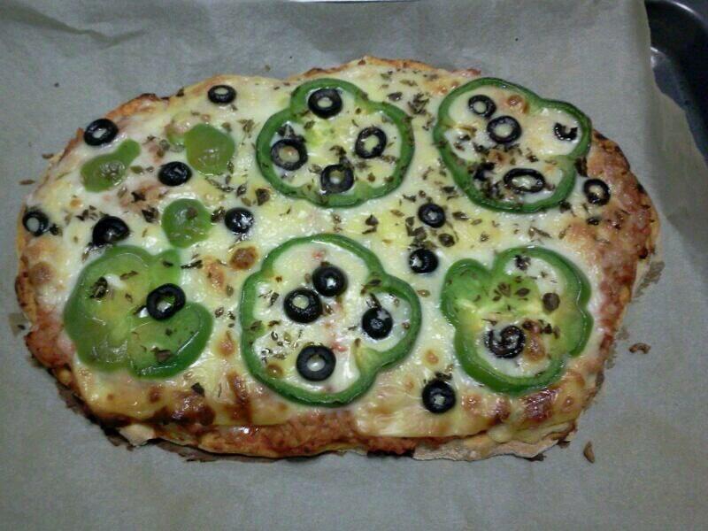 Pizza caseira - Martu