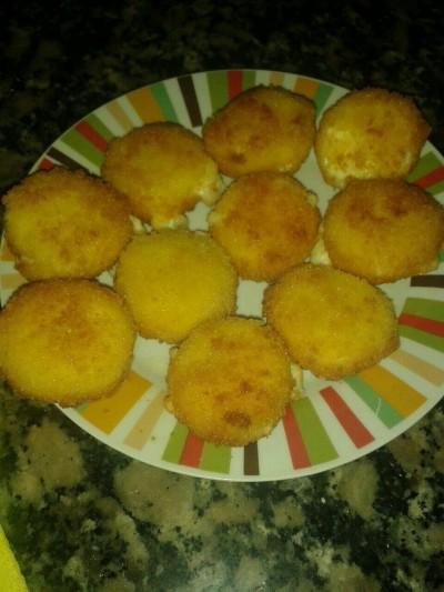 Piruletas de queixo - Ruth