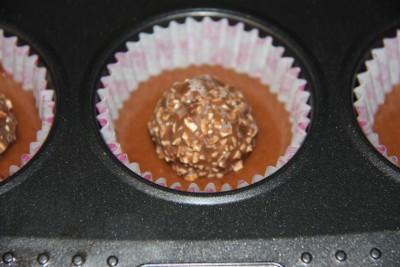 Magdalenas de Ferrero Rocher