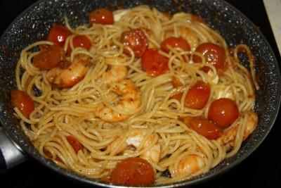 Spaghetti cherry