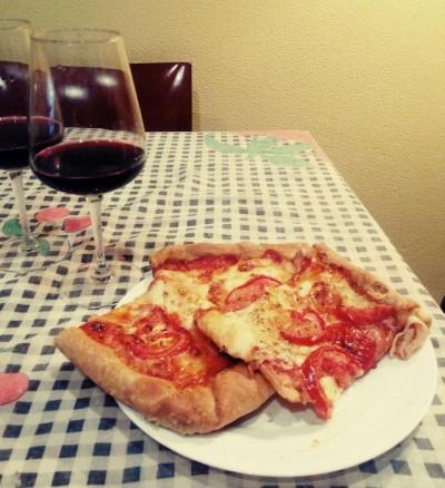 Pizza 4 queixos - Xosé