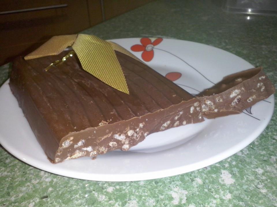 Turrón de chocolate -Silvi