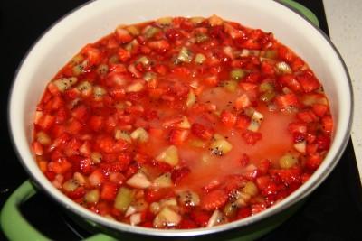 kiwi strawberry jam