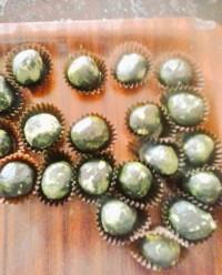 Trufas de té verde - Xabier