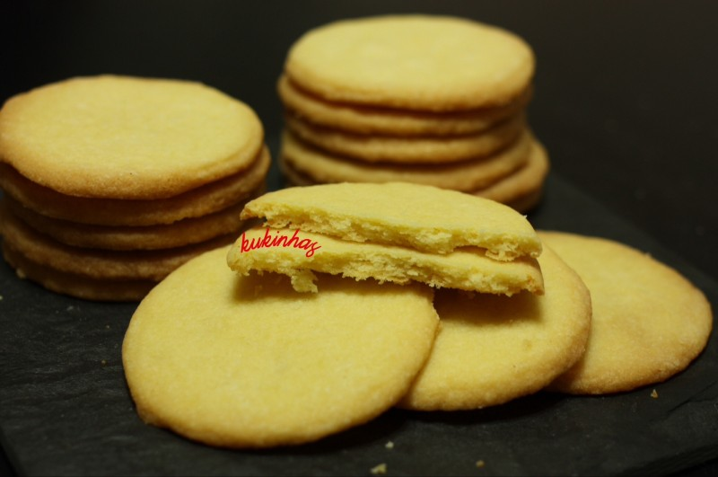 galletas de manteiga