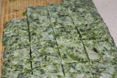 croquetas de algas