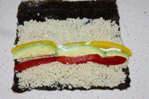 sushi quinoa