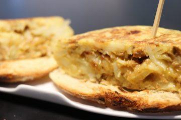 tortilla con rixóns